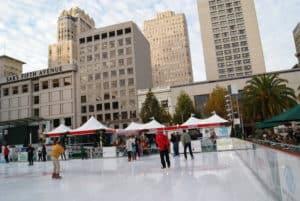 San Fransisco ice rink