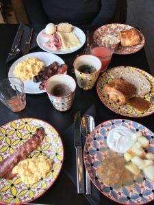 terminal neige totem flaine breakfast